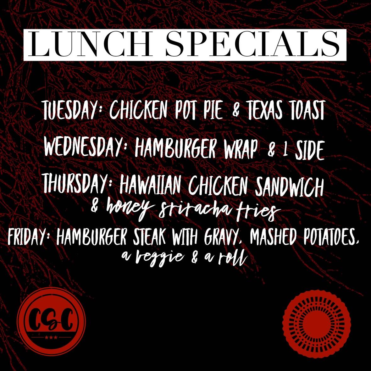 lunch specials june 3