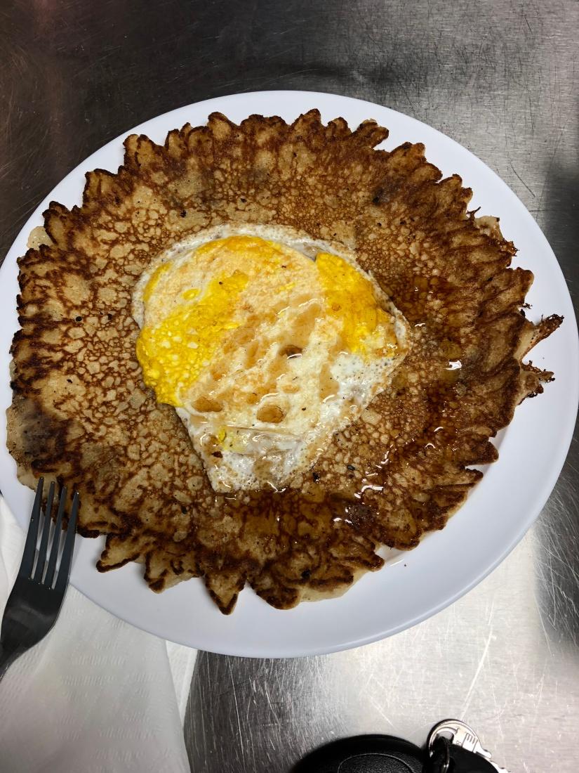 Pancake and Egg