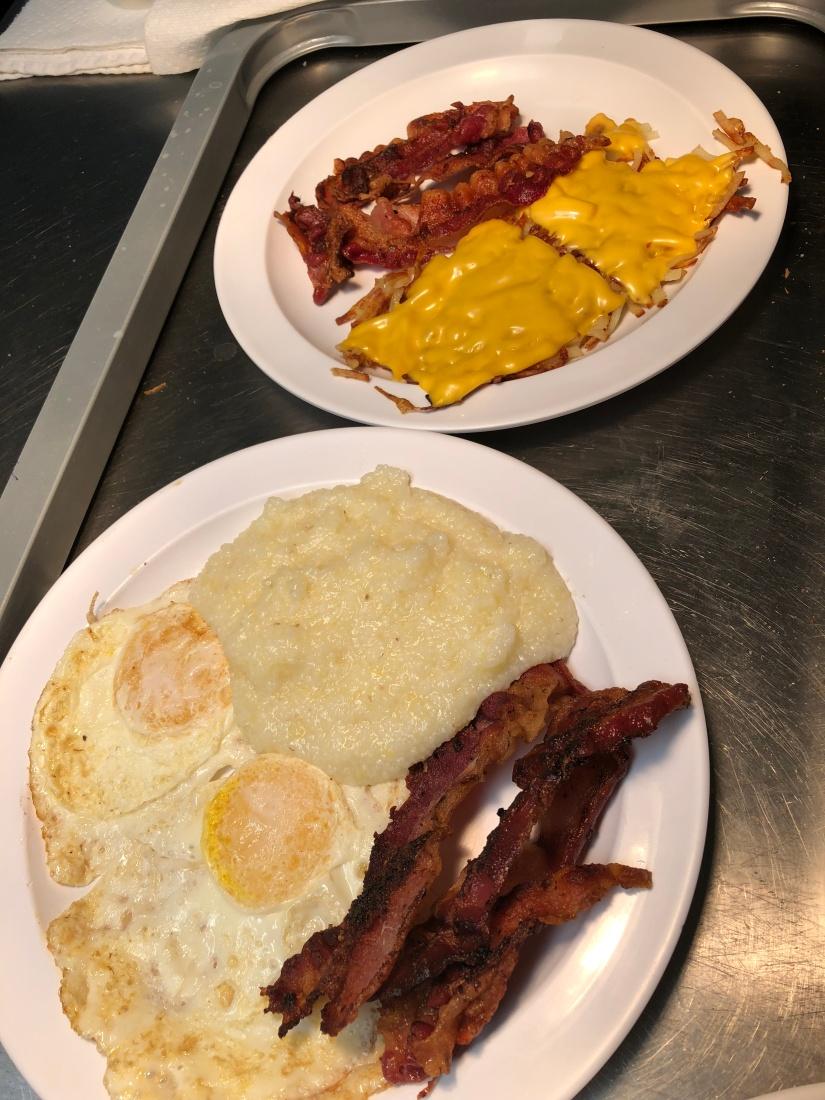 breakfast palte