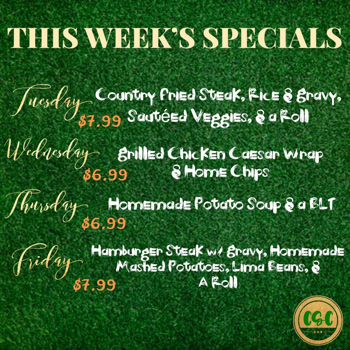 lunch specials nov 3