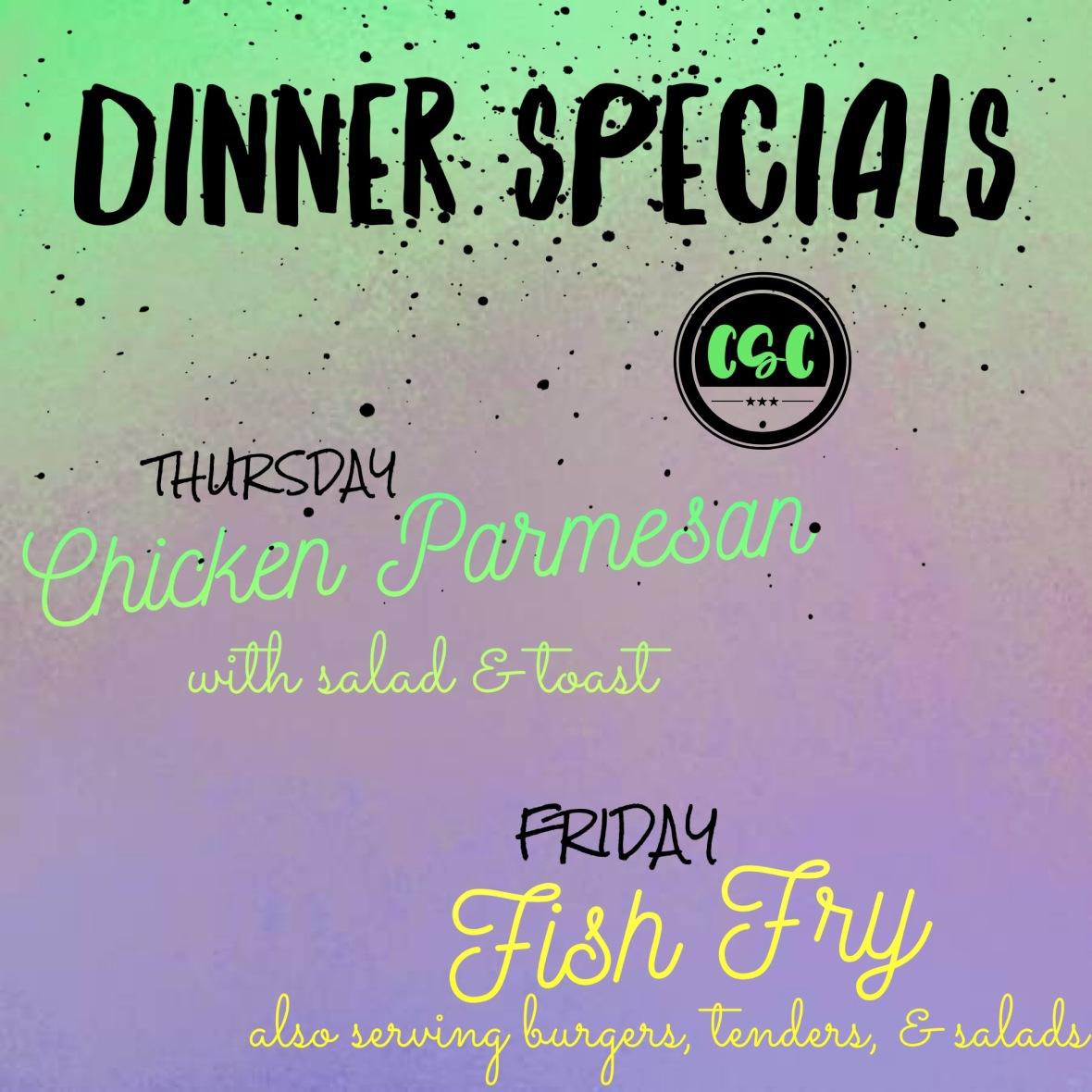 dinner specials jan 3